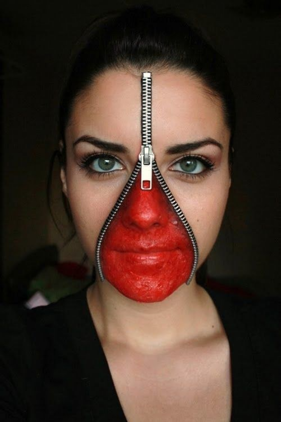 Halloween Makeup Scary.31 Scary Halloween Makeup Ideas For Women That Are Terrifying
