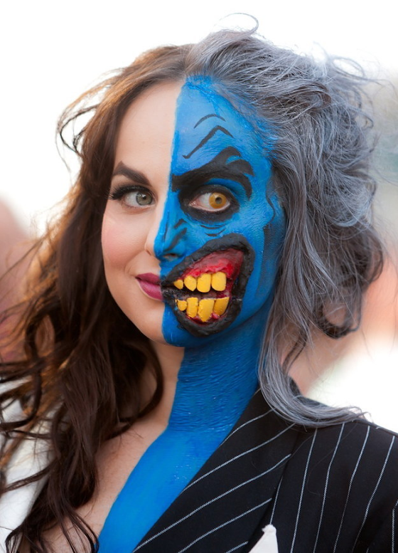 Scary Halloween Makeup Ideas For Women 08.
