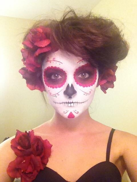 Scary Halloween Makeup Ideas For Women 09.