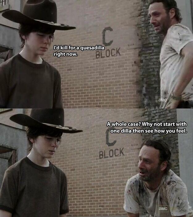 35 Of The Best Walking Dead Carl Meme (Coral) Dad Jokes