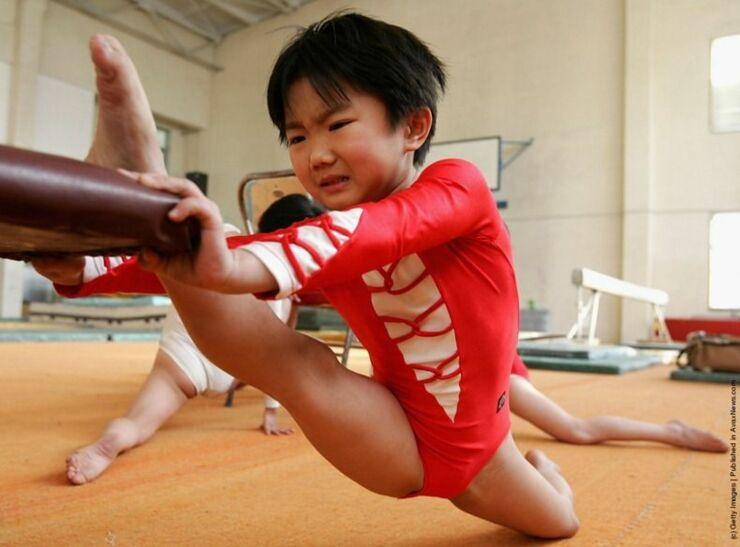 Chinese Children Training To Become Olympic Athletes - 16.