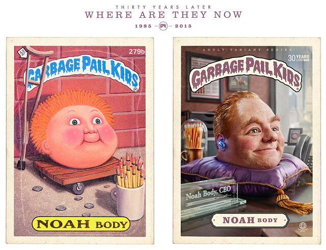 Where Are They Now; 1985 - 2015; Garbage Pal Kids