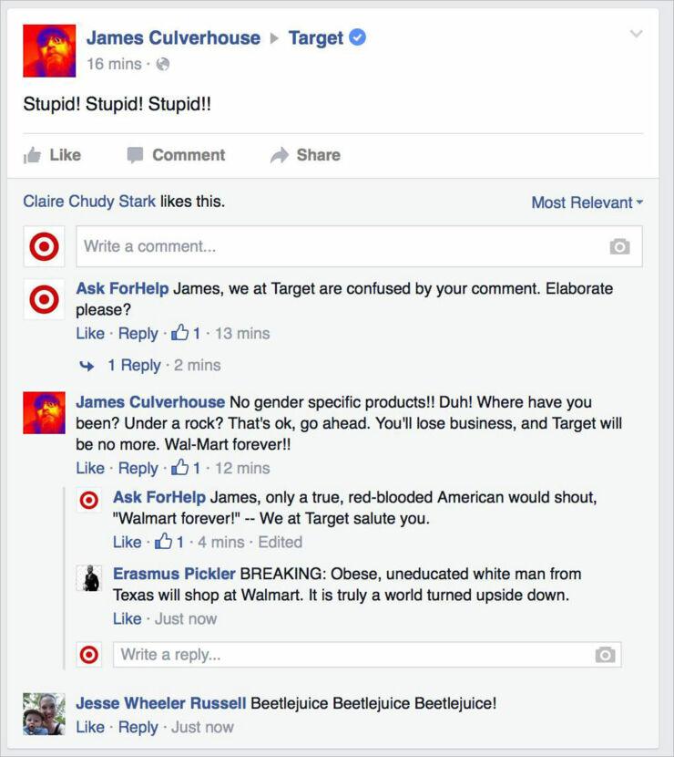 Facebook Troll Makes Fake Target Account & Gives Hilarious Replies To Gender-Neutral Haters