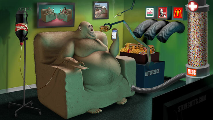 Steve Cutts Illustrations 03.