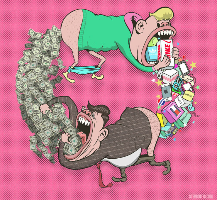 Steve Cutts Illustrations 04.