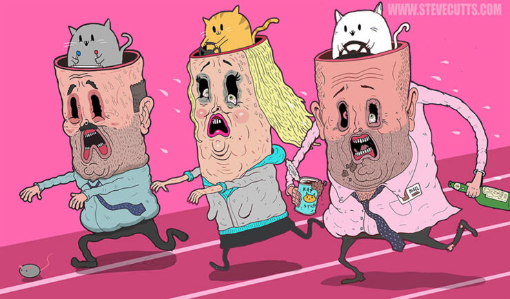 Steve Cutts Illustrations 09.