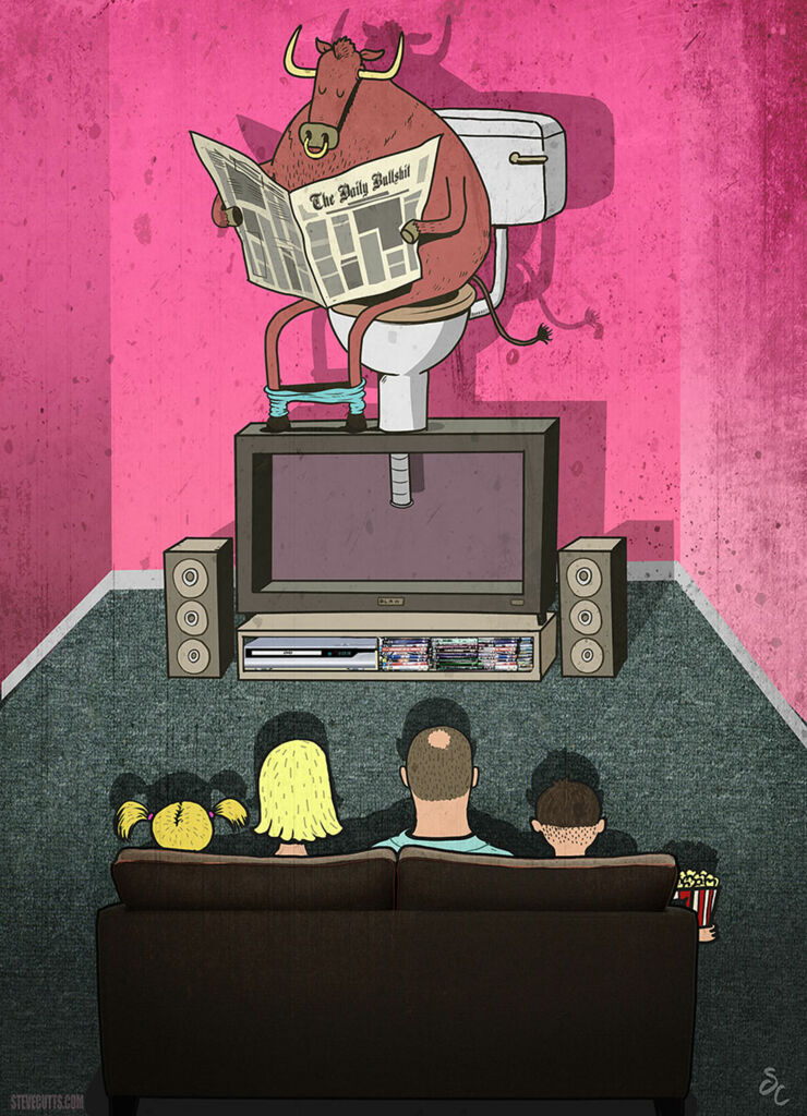 Steve Cutts Illustrations 02.