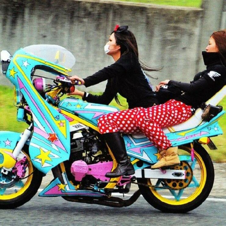 Bosozoku Biker Girl Gangs Of Japan - 01.