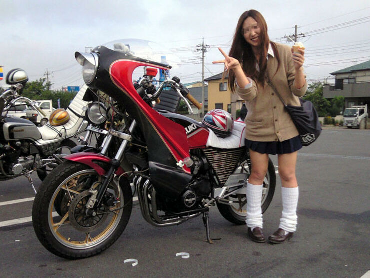 Bosozoku Biker Girl Gangs Of Japan - 02.