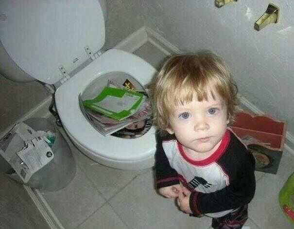 Hilarious Kids Pictures 12.