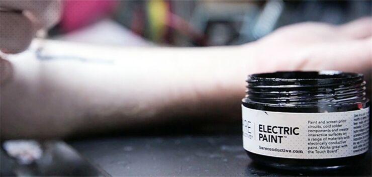 Biohacking Tech Tats Use Conductive Ink & Embeddable LEDs