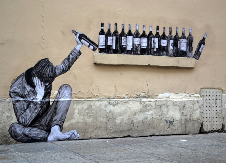 French Street Artist Charles Leval (aka Levalet) Turns The Streets Of Paris Into A Cool Gallery