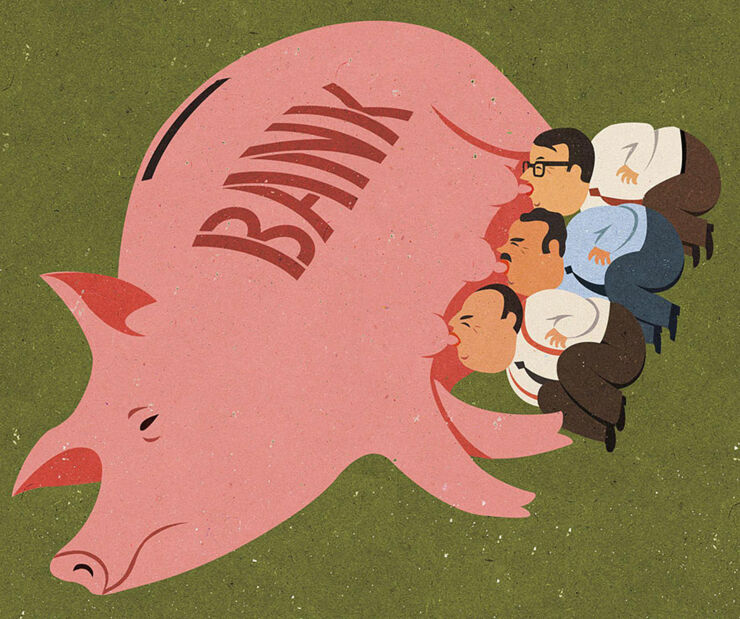 John Holcroft Satirical Illustrations 14.