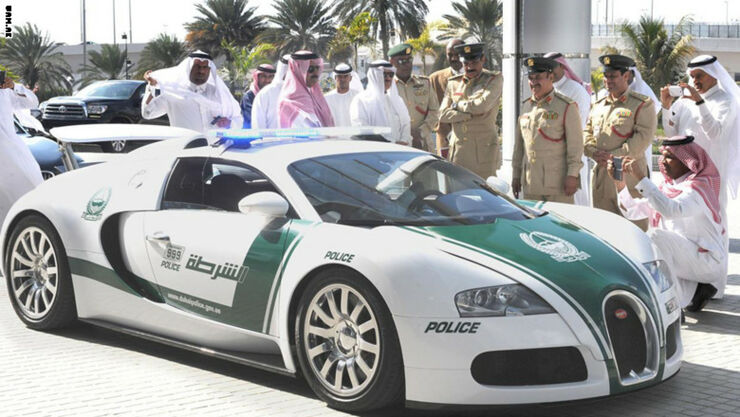 Dubai Police Cars Include Crazy Supercars And Sports Cars - 02.