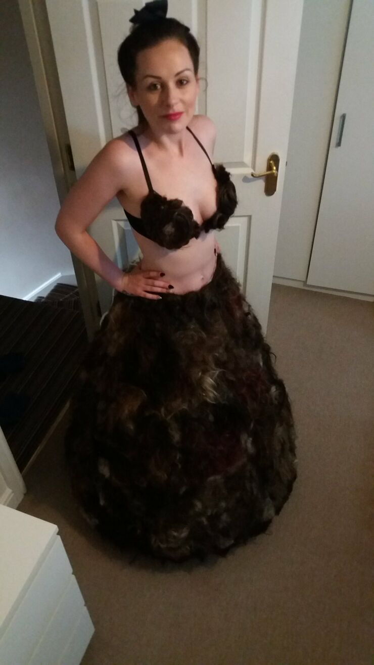Sarah Louise Bryan Pubic Hair Dress - 04