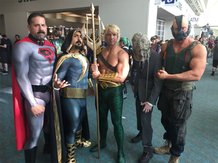 Comic Con 2016 - The Best Of The Cosplay Costumes At The San Diego Sci-Fi & Comic Convention
