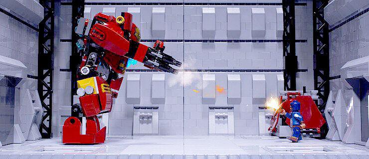 Lego Civil War Is A Stop Motion Take On Cap Vs  Iron Man