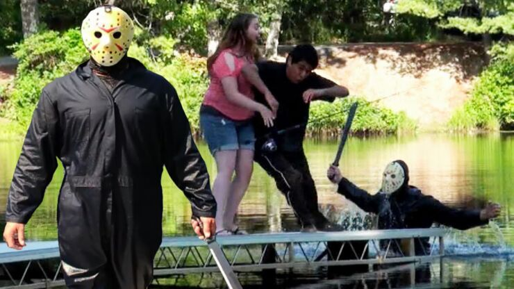 Friday The 13th Scare Prank