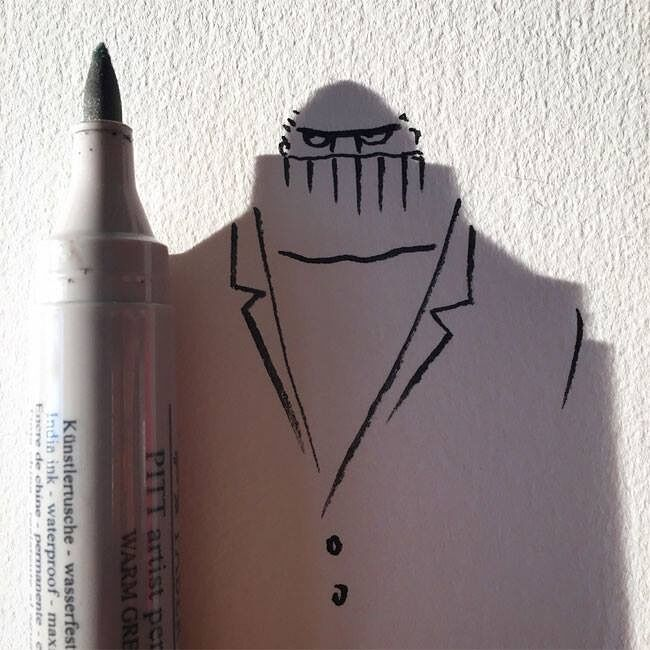 Everyday Objects Tuned Into Awesome Doodles 05.