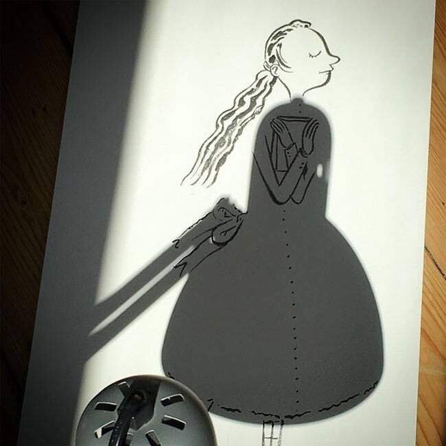 Belgium Artist Vincent Bal Shadow Art 11.