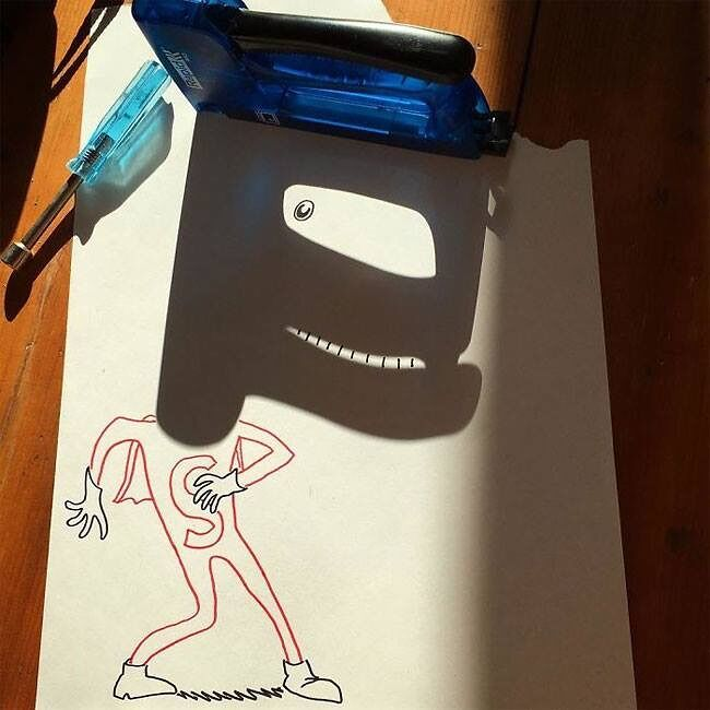Everyday Objects Tuned Into Awesome Doodles 13.