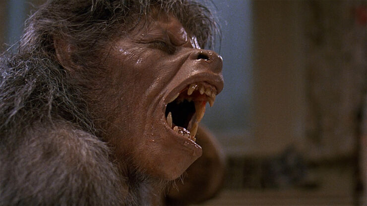 Classic Halloween Monsters Werewolf.
