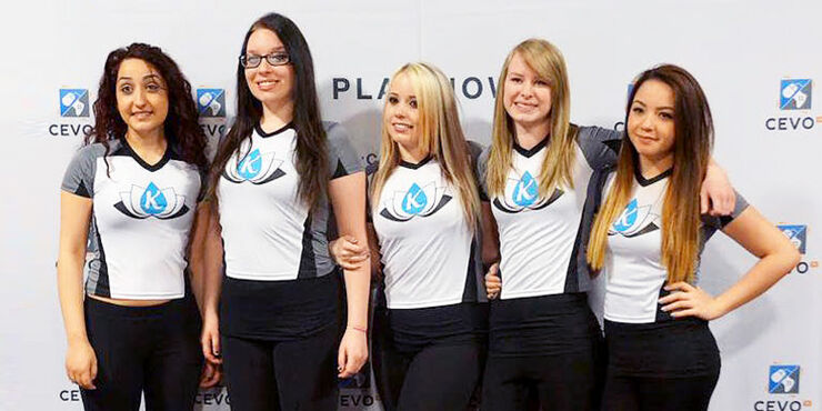 All Women Counter-Strike Team