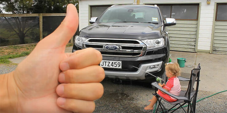 how-to-wash-a-car-with-a-baby