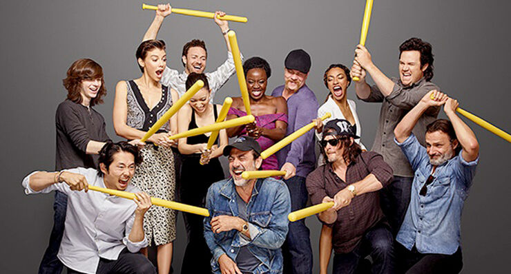 The Walking Dead Season 7 Cast.