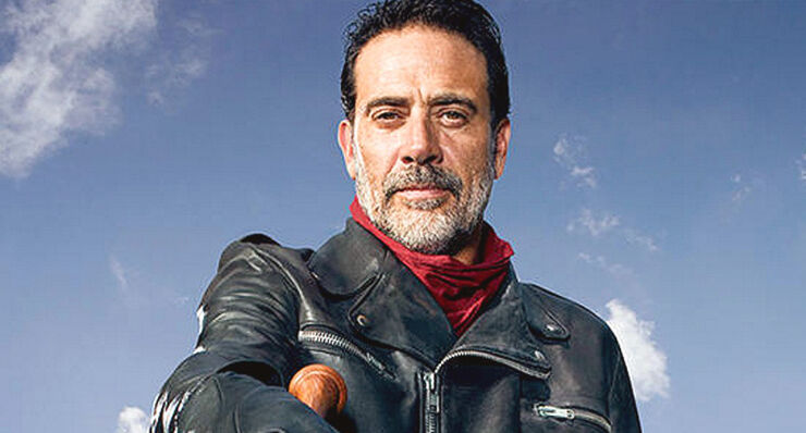 The Walking Dead Season 7 Dead Negan.