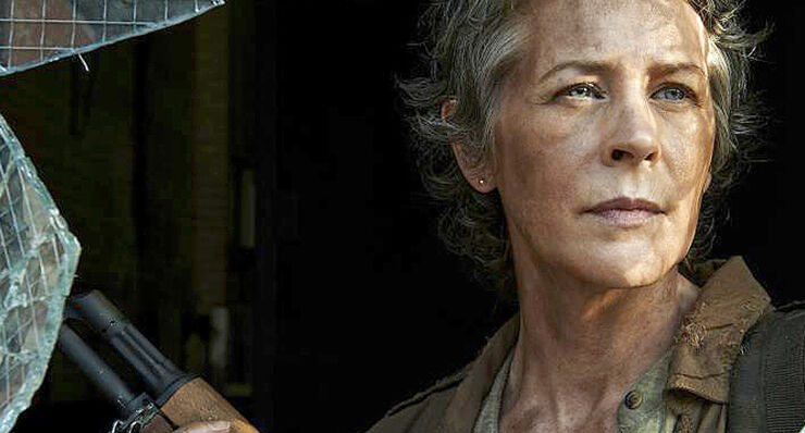 The Walking Dead Season 7 Carol.