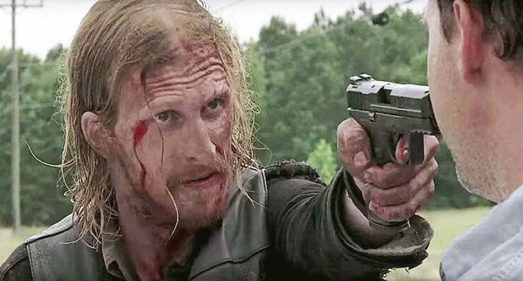 The Walking Dead Season 7 Dwight.