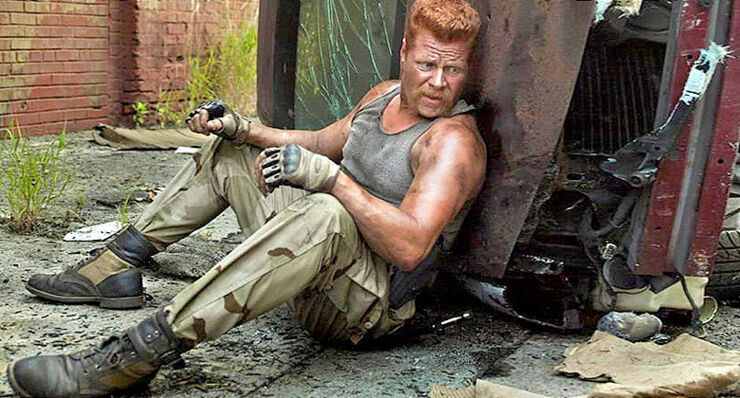 The Walking Dead Season 7 Abraham.