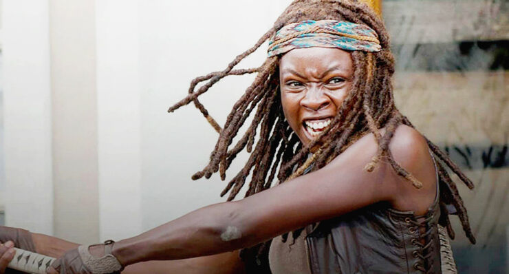 The Walking Dead Season 7 Michonne.