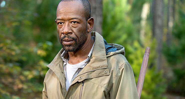 The Walking Dead Season 7 Morgan.