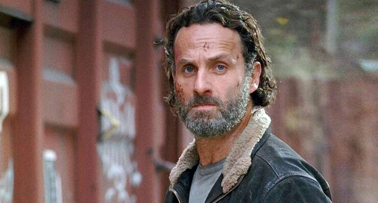 The Walking Dead Season 7 Rick.