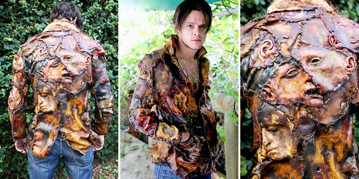 Terrifying Human Flesh Jacket Is A Complete Horrorshow