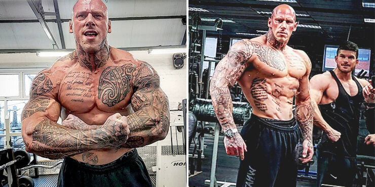 Martyn Ford Is A 6ft 8in 320lb Hulk Of A Bodybuilder