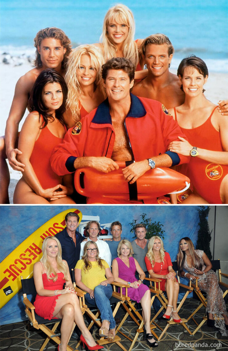 Tv & Movie Cast Reunions - Baywatch- 1989 Vs. 2013