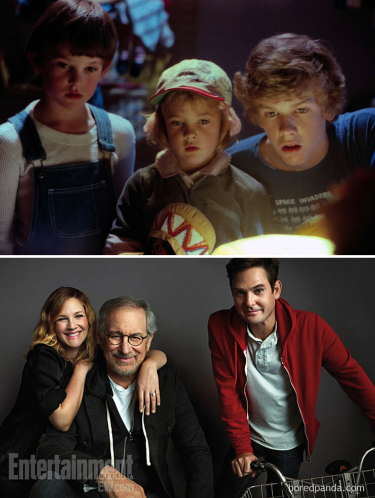 Tv & Movie Cast Reunions - E.T.,The Extra-Terrestrial- 1982 Vs. 2012