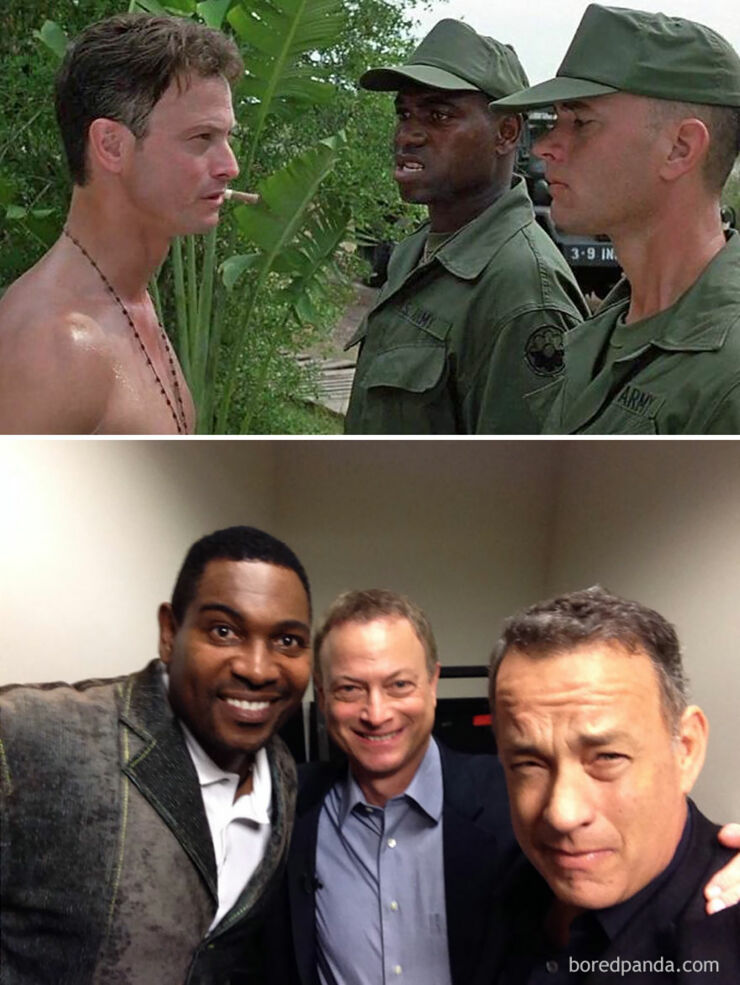 Tv & Movie Cast Reunions - Forrest Gump- 1994 Vs. 2014