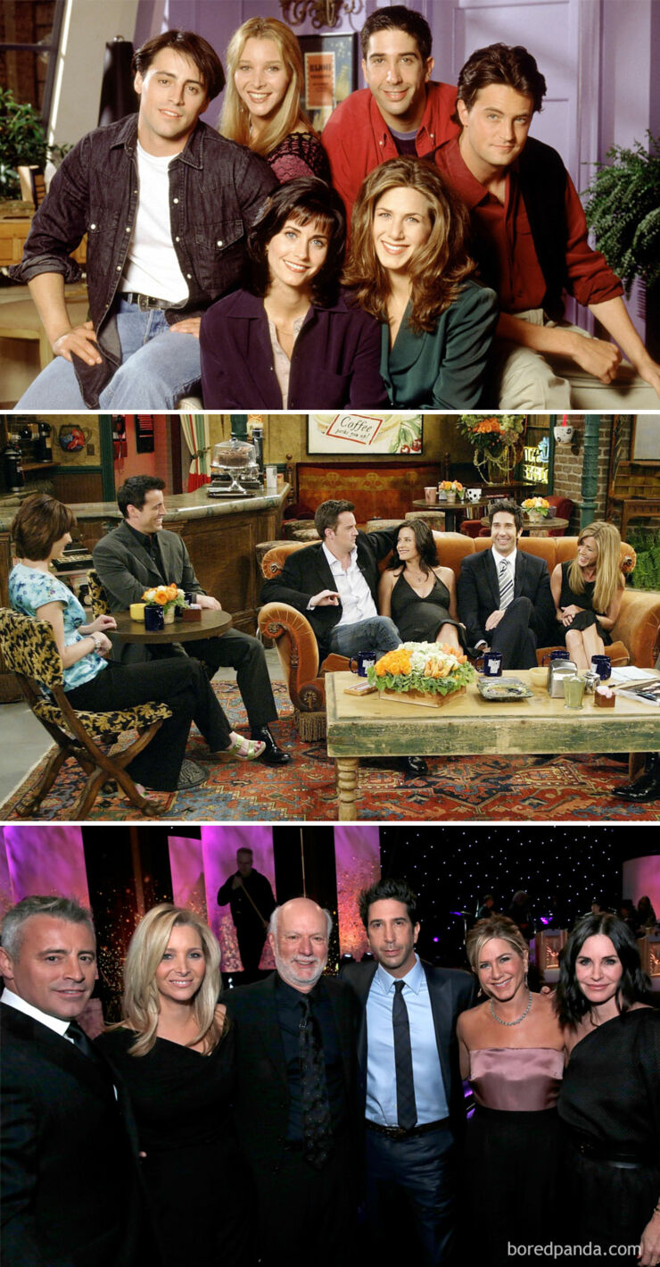 Tv & Movie Cast Reunions - Friends- 1994 Vs. 2004 Vs. 2016