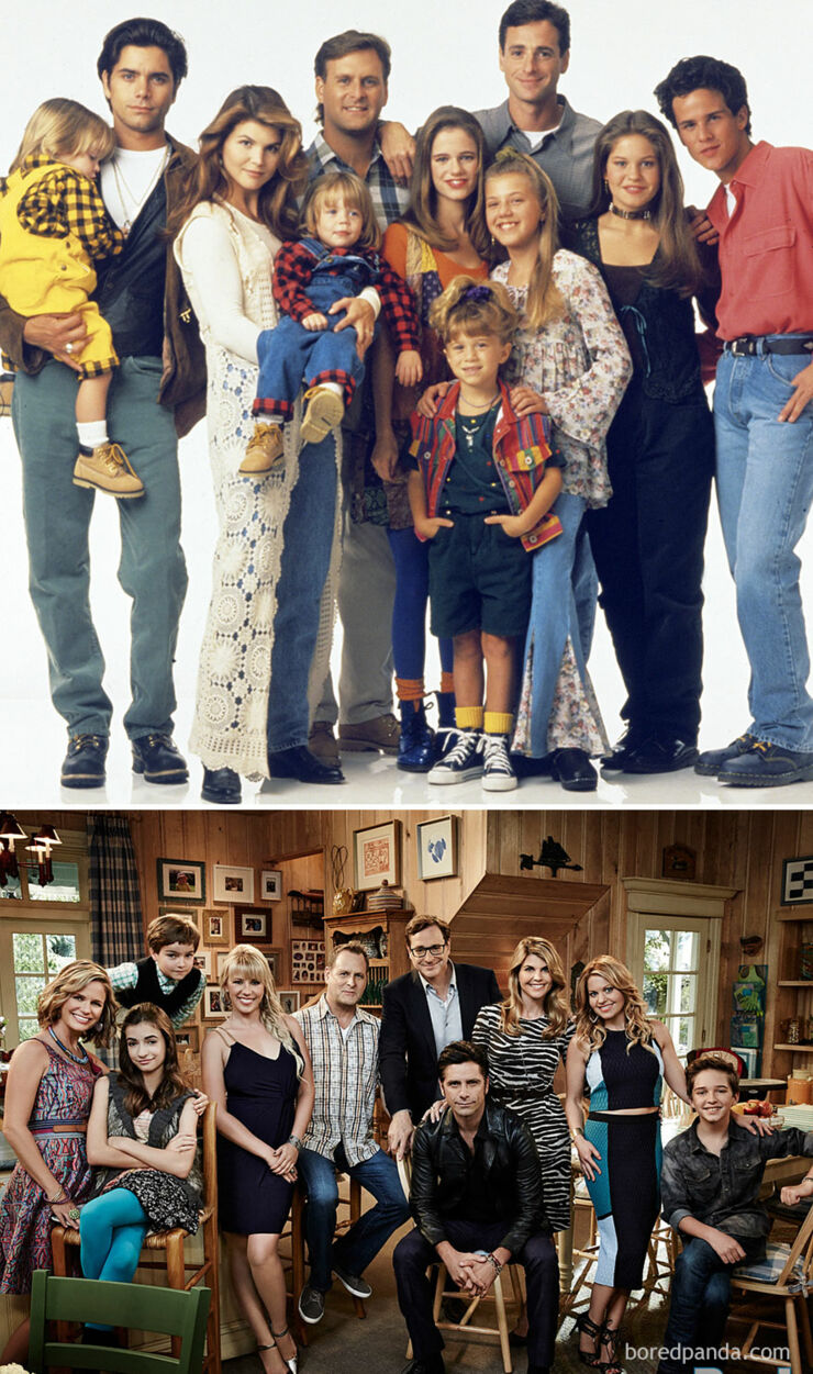 Tv & Movie Cast Reunions - Full House- 1990 Vs. 2016