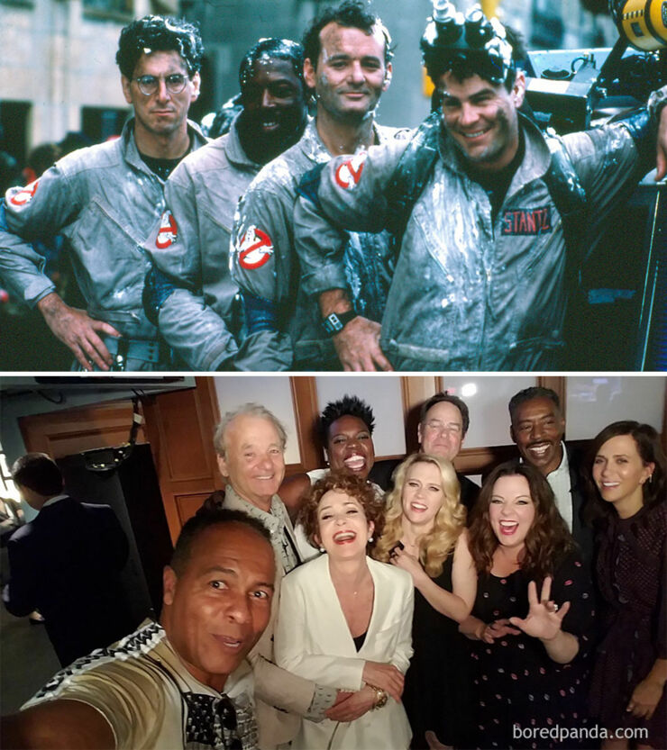 Tv & Movie Cast Reunions - Ghostbusters- 1984 Vs. 2016
