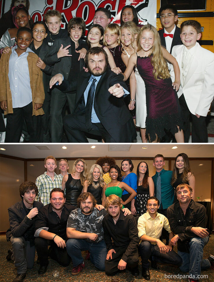 STv & Movie Cast Reunions - chool Of Rock- 2003 Vs. 2013