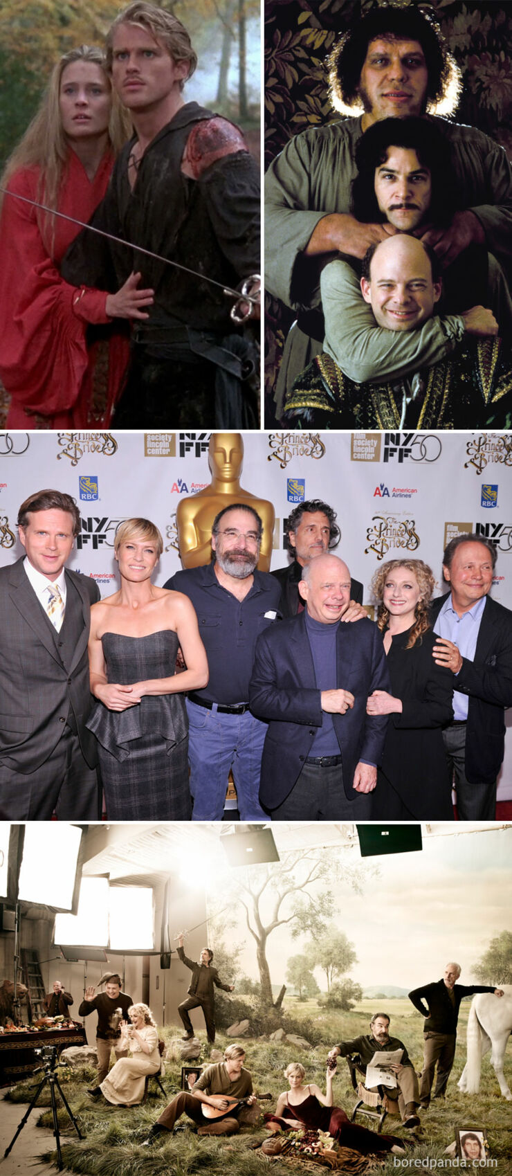 Tv & Movie Cast Reunions - The Princess Bride- 1987 Vs. 2012