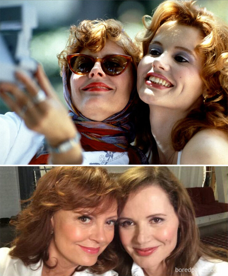 Tv & Movie Reunions - Thelma & Louise- 1991 Vs. 2014