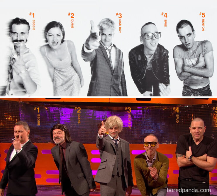 Tv & Movie Reunions - Trainspotting- 1996 Vs. 2017