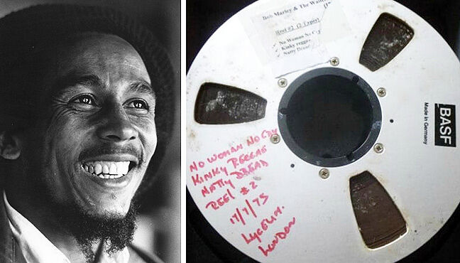 Lost Bob Marley Live Tapes - 12.