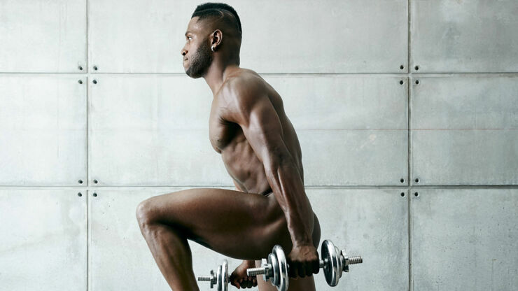 Naked Athletes Antonio Brown.